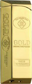 Zorr Goldbarren Piezofeuerzeug als Werbeartikel