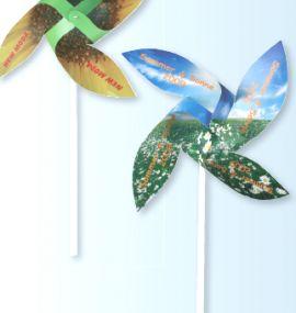 Windmühlen-Bastelset als Werbeartikel