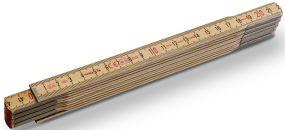 Holz-Gliedermaßstab Serie 600 N-S 2m als Werbeartikel