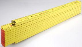 Holz-Gliedermaßstab Serie 700 2m als Werbeartikel
