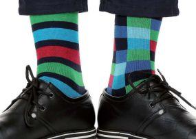 Herren Anzug-Socken inkl. individuellem Logo