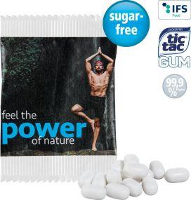 Tic tac GUM im Papiertütchen als Werbeartikel