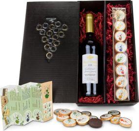 Präsentset Chocolate for wine als Werbeartikel