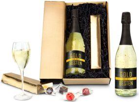 Präsentset Gold-Paket für die Besten als Werbeartikel