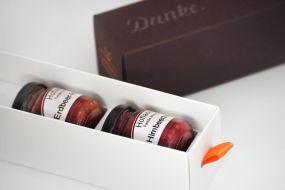 Individualisierbare Dankebox - Feinster Fruchtaufstrich