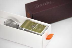 Individualisierbare Dankebox - Premium-Tee aus Darjeeling