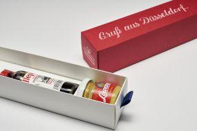 Individualisierbare Dankebox - Gruß aus Düsseldorf