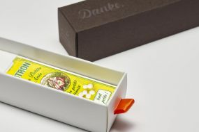 Individualisierbare Mini Dankebox - Les Petits Anis, Zitrone