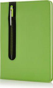 Deluxe A5 Notizbuch als Werbeartikel mit Stylus als Werbeartikel