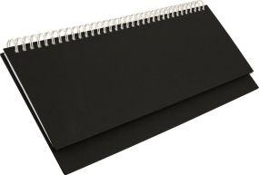 Tischquerkalender Professional blackline als Werbeartikel