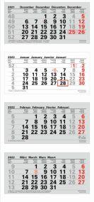 4-Monatsplaner XL als Werbeartikel