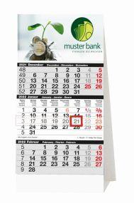 3-Monats-Planer Tischkalender als Werbeartikel