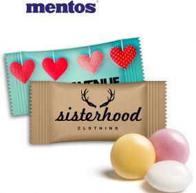 mentos Pfefferminz im Flowpack als Werbeartikel