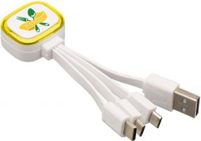 Multi-USB-Ladekabel Reflects Collection 500 als Werbeartikel