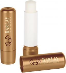 Lippenpflegestift Lipcare Metallic Collection als Werbeartikel