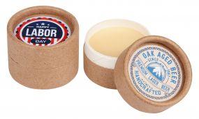 LipJar Eco - Lippenpflege im Karton-Döschen als Werbeartikel