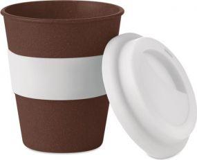 Becher aus Kaffeehülsen 350ml als Werbeartikel