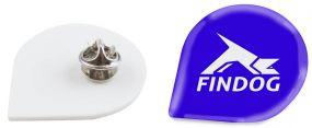 Pin de Luxe Emaille-Look DYO als Werbeartikel