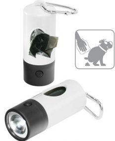 """""""Gassi""""-Taschenlampe, 1 LED (weiß) als Werbeartikel"""