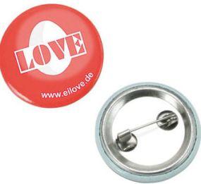 Metall-Button als Werbeartikel
