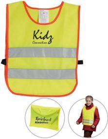 Kinder-Sicherheitsüberwurf als Werbeartikel