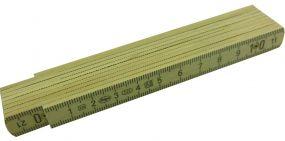Holzglieder-Maßstab 1 m als Werbeartikel