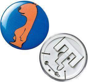 Button Self-Made 0,4 x Ø 6,4 cm als Werbeartikel
