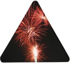 Magnet Dreieck als Werbeartikel