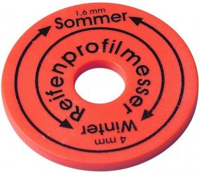 Reifenprofilmesser Chip als Werbeartikel