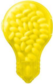 Mint-Spender Glühbirne als Werbeartikel