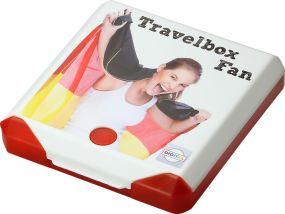 Travelbox Fan als Werbeartikel