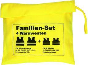 Warnwesten-Set Family als Werbeartikel