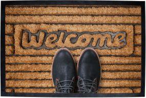 Fußmatte Home klein als Werbeartikel
