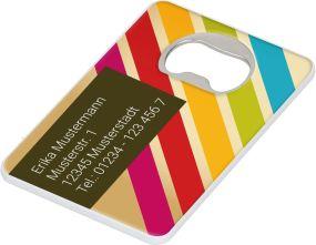 Untersetzer Card als Werbeartikel