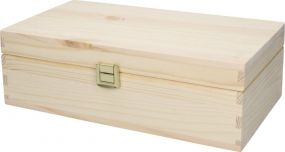 Holzbox Pino, groß als Werbeartikel