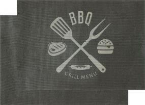 Grillmatte BBQ, 2er Set