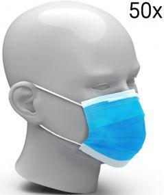 Gesichtsmaske Einweg, 50er Set als Werbeartikel