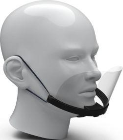 Mund-Nasen-Schild Gastronomie als Werbeartikel