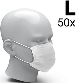 Mund-Nasen-Schutz 3-Ply - 50er Set als Werbeartikel