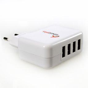 Styletec Mehrfach USB Charger   Ladegerät EU Stecker als Werbeartikel