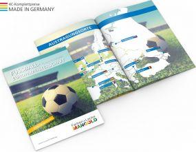 EM-Miniplaner Individuelles Cover als Werbeartikel
