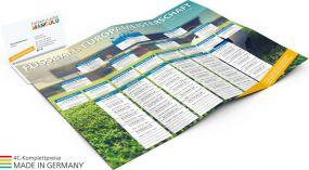 Info-Card EM als Werbeartikel