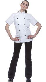 Damenkochjacke Pauline als Werbeartikel