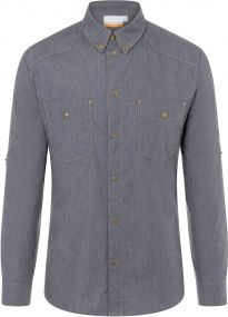 Button-Down Kochhemd Jeans-Style als Werbeartikel