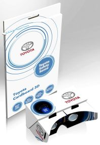 VR-Brille aus Kartoncover inkl. Werbedruck