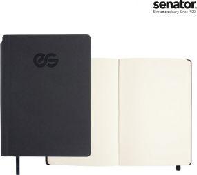 Senator Notizbuch Struktur als Werbeartikel