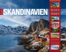 Kalender Skandinavien 2021 als Werbeartikel
