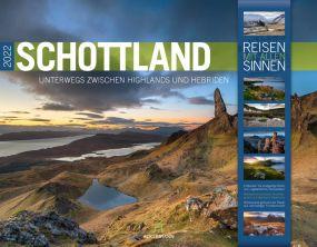 Kalender Schottland 2021 als Werbeartikel
