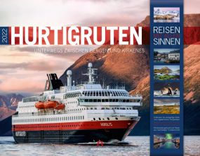 Kalender Hurtigruten 2021 als Werbeartikel