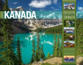 Kalender Kanada 2021 als Werbeartikel
